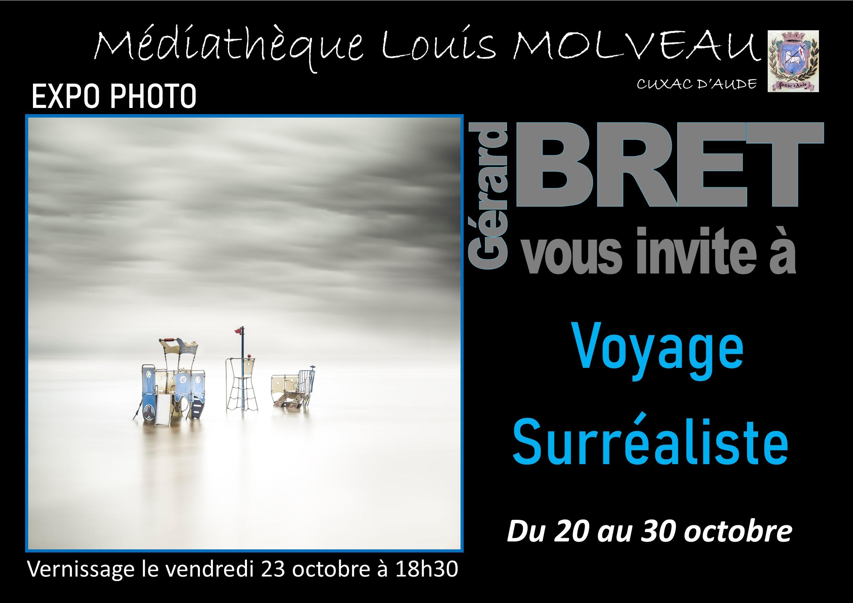 """Vernissage Expo """"Voyage surréaliste"""""""