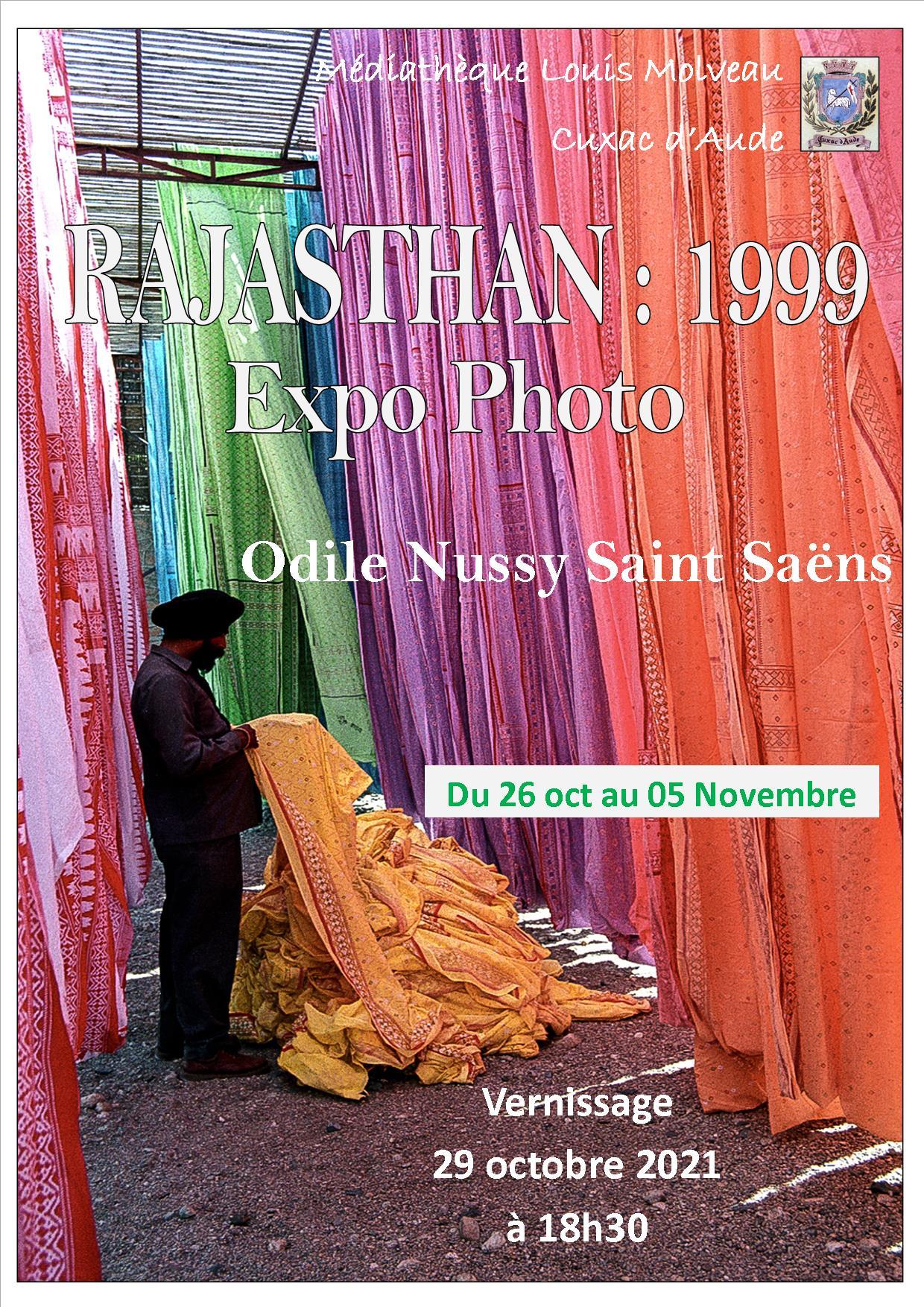 Exposition - Vernissage le 29/10 à 18h30